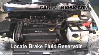 Add Brake Fluid: 2007-2011 Chevrolet Aveo5