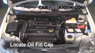 How to Add Oil Chevrolet Aveo5 (2007-2011)