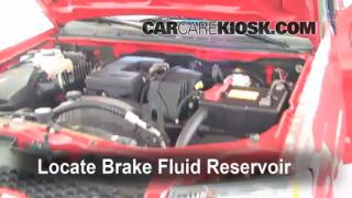 2007 Chevrolet Colorado LT 3.7L 5 Cyl. Crew Cab Pickup (4 Door) Brake Fluid Check Fluid Level