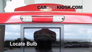 Third Brake Light Bulb Change Chevrolet Colorado (2004-2012)