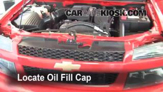 How to Add Oil Chevrolet Colorado (2004-2012)