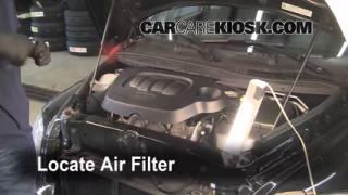 2006-2011 Chevrolet HHR Engine Air Filter Check