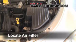 2007 Chrysler PT Cruiser Limited 2.4L 4 Cyl. Air Filter (Engine) Replace