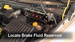 Add Brake Fluid: 2001-2010 Chrysler PT Cruiser