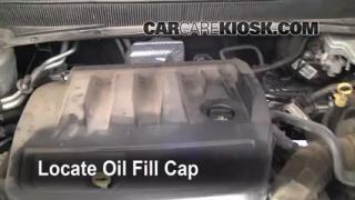 How to Add Oil Chrysler Sebring (2007-2010)