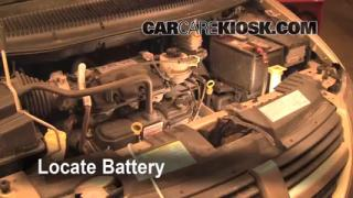 Battery Replacement: 2005-2007 Dodge Grand Caravan