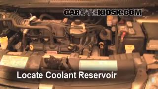 Coolant Level Check: 2005-2007 Grand Caravan