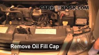 How to Add Oil Chrysler Town and Country (2005-2007)