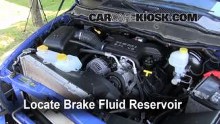 2007 Dodge Ram 1500 Laramie 5.7L V8 Extended Crew Cab Pickup Brake Fluid Check Fluid Level