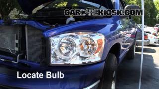 Headlight Change 2006-2008 Dodge Ram 1500