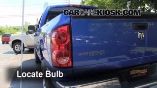 2007 Dodge Ram 1500 Laramie 5.7L V8 Extended Crew Cab Pickup Lights Reverse Light (replace bulb)