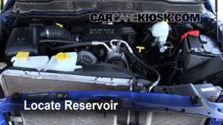 Check Windshield Washer Fluid Dodge Ram 1500 (2006-2008)