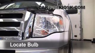 2007 Ford Expedition EL Eddie Bauer 5.4L V8 Lights Highbeam (replace bulb)