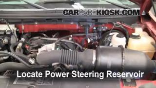 Follow These Steps to Add Power Steering Fluid to a Ford F-150 (2004-2008)
