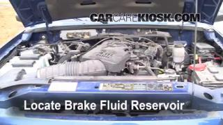 2007 Ford Ranger FX4 4.0L V6 (4 Door) Brake Fluid Check Fluid Level