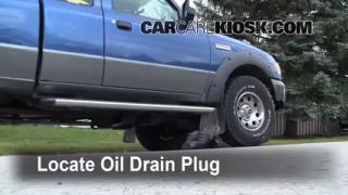 Oil & Filter Change Ford Ranger (2006-2011)