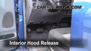 Open Hood How To 2006-2011 Ford Ranger