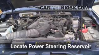 2007 Ford Ranger FX4 4.0L V6 (4 Door) Power Steering Fluid Fix Leaks