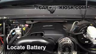 How to Jumpstart a 2007-2013 GMC Sierra 1500