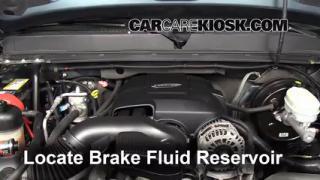 2007-2013 GMC Sierra 1500 Brake Fluid Level Check
