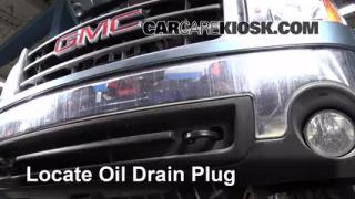 Oil & Filter Change GMC Sierra 1500 (2007-2013)