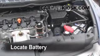 How to Clean Battery Corrosion: 2006-2011 Honda Civic