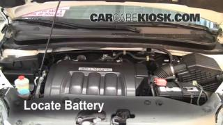 How to Clean Battery Corrosion: 2005-2010 Honda Odyssey