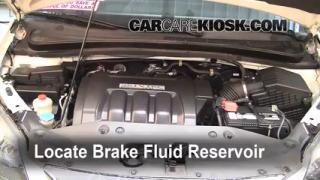 2007 Honda Odyssey EX 3.5L V6 Brake Fluid Add Fluid