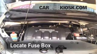 how to change transmission fluid honda odyssey 2007