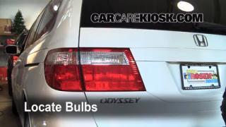 Tail Light Change 2005-2010 Honda Odyssey