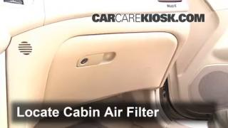 Cabin Filter Replacement: Kia Optima 2006-2010
