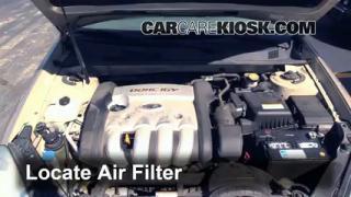 2006-2010 Kia Optima Engine Air Filter Check