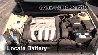Battery Replacement: 2006-2010 Kia Optima