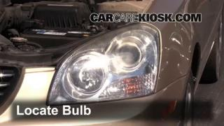 Headlight Change 2006-2010 Kia Optima