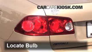 2007 Kia Optima EX 2.4L 4 Cyl. Lights Reverse Light (replace bulb)