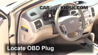Engine Light Is On: 2006-2010 Kia Optima - What to Do
