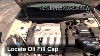 How to Add Oil Kia Optima (2006-2010)