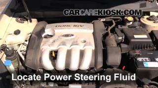 Follow These Steps to Add Power Steering Fluid to a Kia Optima (2006-2010)