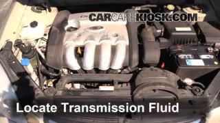 Add Transmission Fluid: 2006-2010 Kia Optima