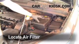 2007-2010 Kia Rondo Engine Air Filter Check