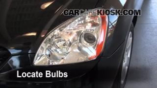 2007 Kia Rondo LX 2.4L 4 Cyl. Lights Parking Light (replace bulb)