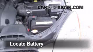 2007 Kia Rondo LX 2.7L V6 Battery Clean Battery & Terminals