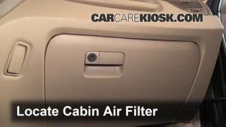 2007 Kia Sportage LX 2.7L V6 Air Filter (Cabin) Check