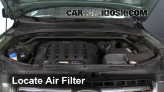 2007 Kia Sportage LX 2.7L V6 Air Filter (Engine) Check