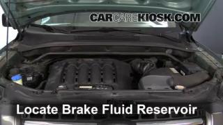 2007 Kia Sportage LX 2.7L V6 Brake Fluid Check Fluid Level