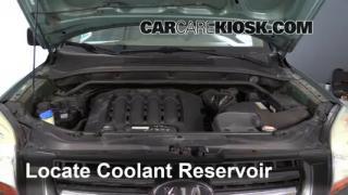 2007 Kia Sportage LX 2.7L V6 Coolant (Antifreeze) Check Coolant Level