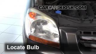 2007 Kia Sportage LX 2.7L V6 Lights Parking Light (replace bulb)
