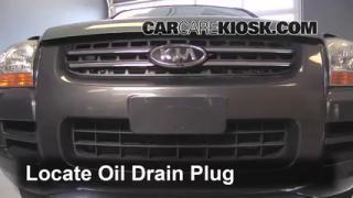 Oil & Filter Change Kia Sportage (2005-2010)