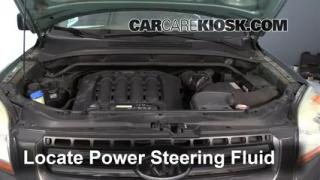 Follow These Steps to Add Power Steering Fluid to a Kia Sportage (2005-2010)