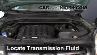 2007 Kia Sportage LX 2.7L V6 Transmission Fluid Add Fluid
